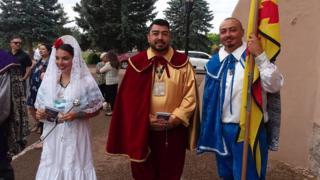 Miembros de la orden de los Caballeros de Vargas