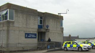 Newquay police station