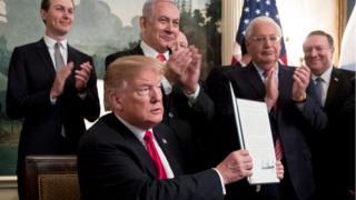 Trump ve Binyamin Netanyahu
