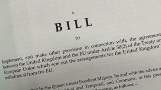 Withdrawal Agreement Bill
