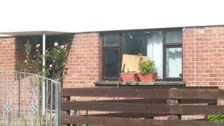 Petrol bomb attack on a house in Alexander Avenue in Armagh