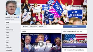 Donald J. Trump Facebook