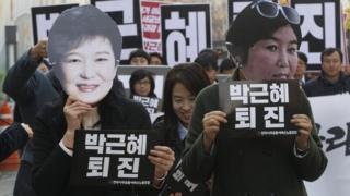Korea Selatan, Choi Soon-sil,Park Geun-hye