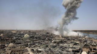 musul'da dumanlar