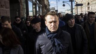 Навальный на митинге