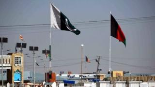 د افغانستان او پاکستان بیرغونه