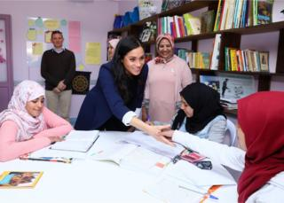 Duchess of Sussex in Morocco