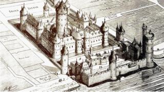 Tapınak Şövalyesi eskizi