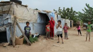 Child refugees in Lebanon