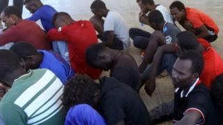 Wahamiaji nchini Libya
