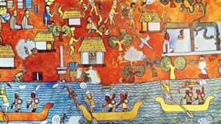Un mural maya