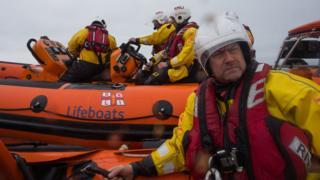The rescue crew