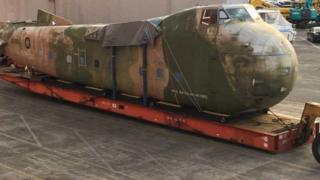 Bristol Freighter fuselage