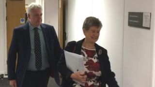 Carwyn Jones and Jane Hutt