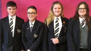 Year nine students at Hull Boulevard