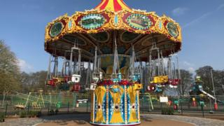 Sway Rider attraction at Wicksteed Park in Kettering