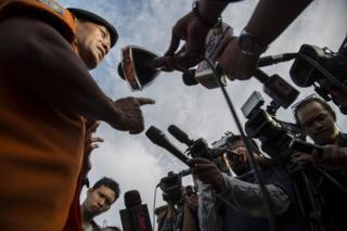 การทำงานของสื่อมวลชนอินโดนีเซีย
