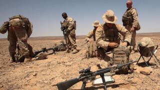 Американские военные в Иордании