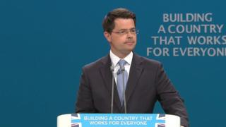 James Brokenshire at the Conservative Party Conference 2017