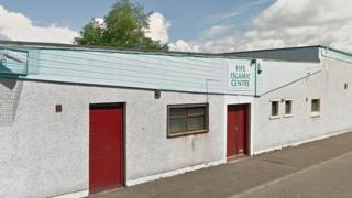 The facade of the Fife Islamic Centre in Glenrothes