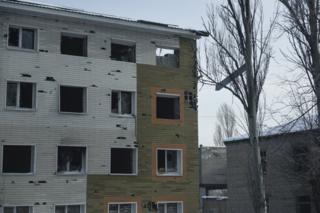 """В штабе АТО заявили, что боевики обстреляли из установок """"Град-П"""" Авдеевку (архивное фото)."""