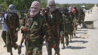 al Shabaab fighters inside Somalia