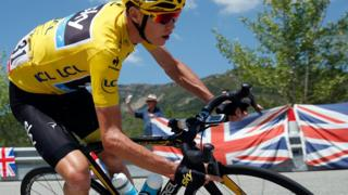 Chris Froome of Great Britain riding for Team Sky