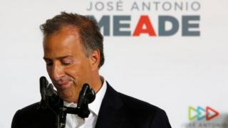 José Antonio Meade candidato del oficialista PRI en la elección de 2018.