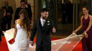 Messi amuoa mpenziwe wa utotoni Antonela Rucuzzo