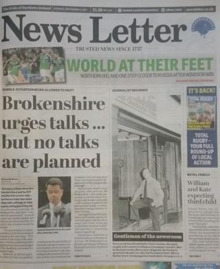 News Letter front page 05/09