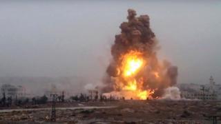 Ataque em Aleppo