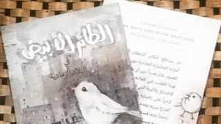 """عالم الكتب """"الطائر الأبيض في البلاد الرمادية"""""""