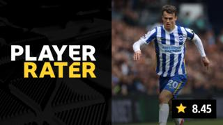 Player rater - Solly March scored 8.45