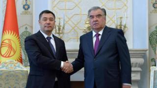 Кыргыз жана тажик президенттери