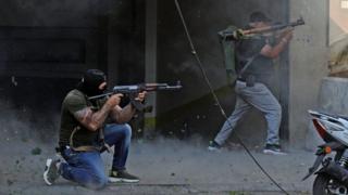 Ливиядагы ок атышуу