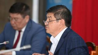 Акылбек Жапаров КР министрлер кабинетинин төрагасынын кызматын аткаруучу