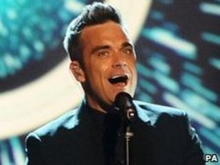 Robbie Williams of Take That
