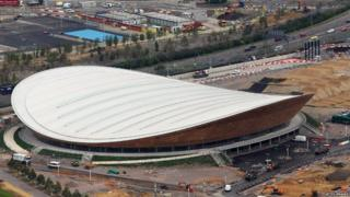 The London 2012 velodrome