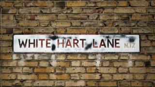 The game at white hart lane has been called off