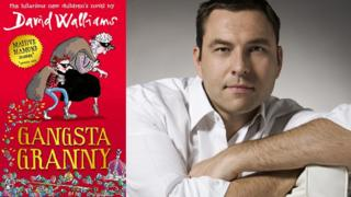 Gangsta Granny book cover and David Walliams