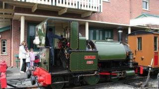Train at Talyllyn Railway