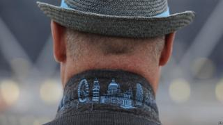 Volunteers will all be given specially designed coats with London landmarks on the collar.