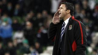 Gary Speed as Wales manager