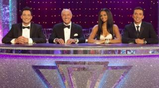 The Strictly judging panel