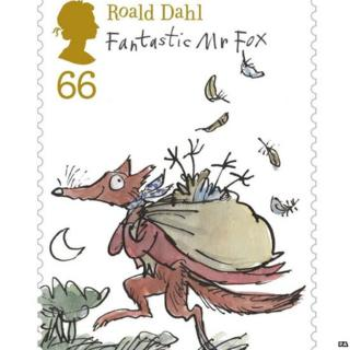 The new range of Roald Dahl stamps