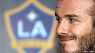 Becks will stay in LA after signing a deal with the Galaxy