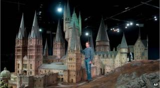 Hogwarts castle goes on show