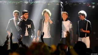 Nickelodeon Kids' Choice Awards 2012 - One Direction on stage