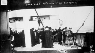 Survivors of the Titanic on the Carpathia