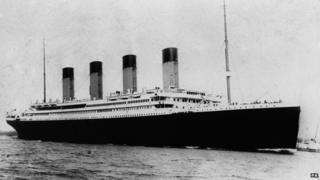The Titanic in 1912